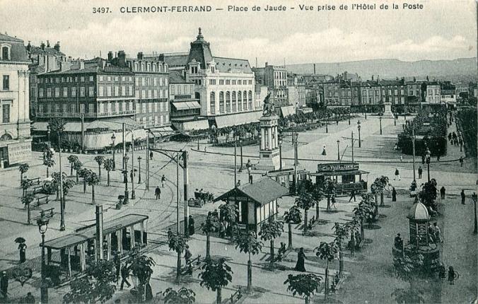 La place de Jaude en 1903