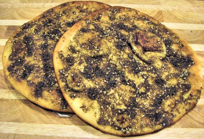 Un Za'atar, ancêtre arabe de la pizza