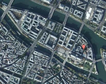 Emplacement de la Rue des Marmousets, sur l'Ile de la Cité
