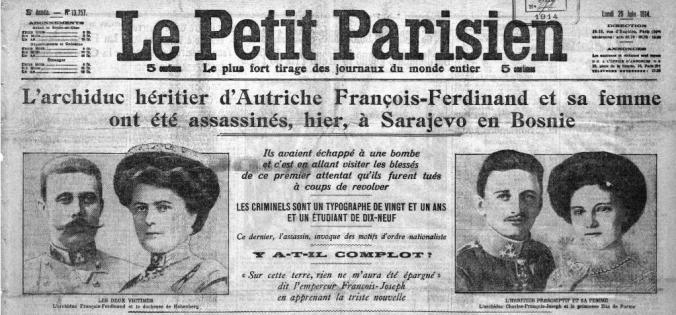 La Une du Parisien du 29 juin (Source : GallicaBnf)