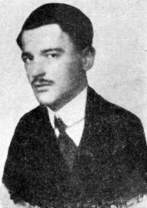 Cabrinovic, auteur de l'attentat