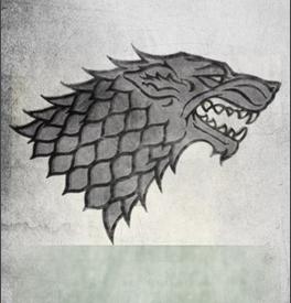 Le blason de la famille Stark