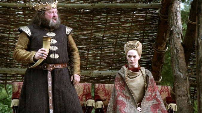 Robert Baratheon et Cersei Lannister
