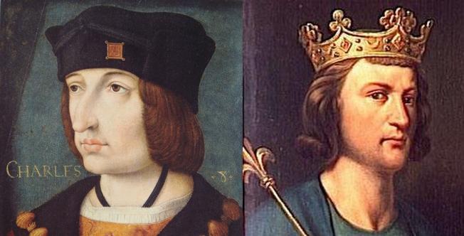 Charles VIII et Louis III, victimes d'une même malédiction