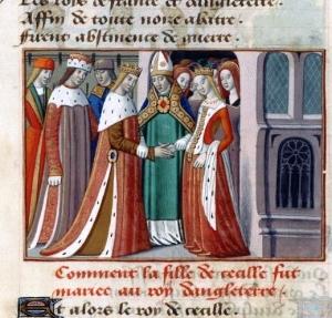 Mariage de Marguerite d'Anjou et d'Henri IV