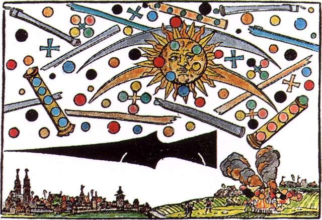 La seconde gravure, datée de 1566