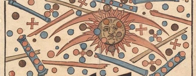Détail de la gravure d'Hans Glaser sur l'évènement du 14 Avril 1561